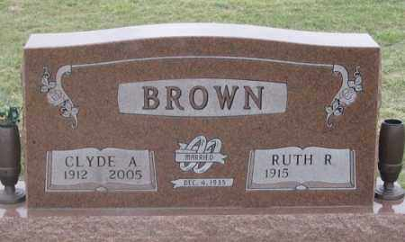 BROWN, CLYDE A. - Dundy County, Nebraska | CLYDE A. BROWN - Nebraska Gravestone Photos