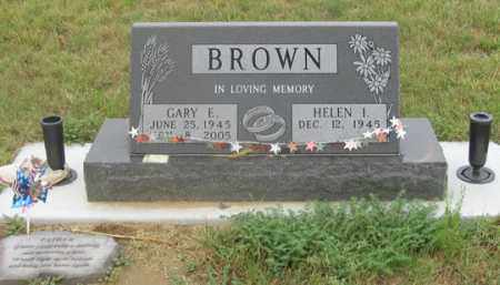 BROWN, GARY E. - Dundy County, Nebraska | GARY E. BROWN - Nebraska Gravestone Photos