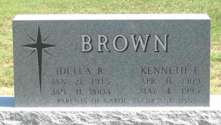 BROWN, IDELLA R. - Dundy County, Nebraska   IDELLA R. BROWN - Nebraska Gravestone Photos