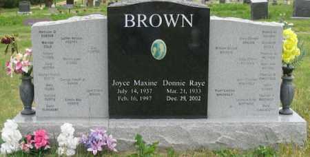 BROWN, JOYCE MAXINE - Dundy County, Nebraska   JOYCE MAXINE BROWN - Nebraska Gravestone Photos