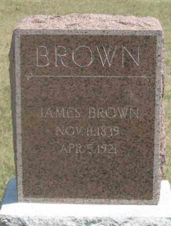 BROWN, JAMES - Dundy County, Nebraska | JAMES BROWN - Nebraska Gravestone Photos