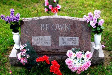 BROWN, PEARL E. - Dundy County, Nebraska | PEARL E. BROWN - Nebraska Gravestone Photos