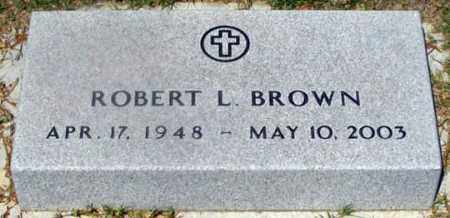 BROWN, ROBERT L. - Dundy County, Nebraska   ROBERT L. BROWN - Nebraska Gravestone Photos