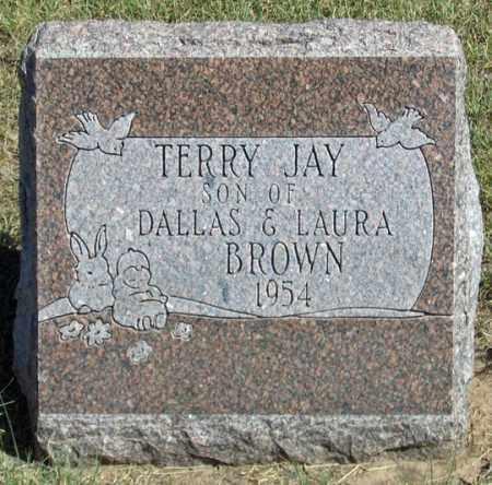 BROWN, TERRY JAY - Dundy County, Nebraska   TERRY JAY BROWN - Nebraska Gravestone Photos