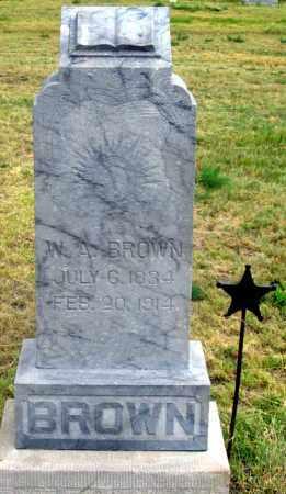 BROWN, WILLIAM ALEXANDER - Dundy County, Nebraska | WILLIAM ALEXANDER BROWN - Nebraska Gravestone Photos