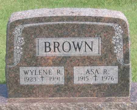 BROWN, WYLENE R. - Dundy County, Nebraska | WYLENE R. BROWN - Nebraska Gravestone Photos