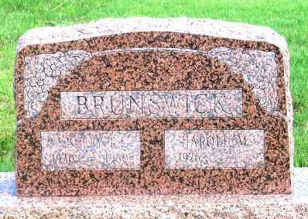 HANSHAW BRUNSWICK, BETTY LOU - Dundy County, Nebraska | BETTY LOU HANSHAW BRUNSWICK - Nebraska Gravestone Photos