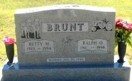 BRUNT, BETTY M. - Dundy County, Nebraska | BETTY M. BRUNT - Nebraska Gravestone Photos