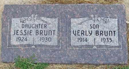 BRUNT, JESSIE YVONNE - Dundy County, Nebraska | JESSIE YVONNE BRUNT - Nebraska Gravestone Photos