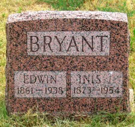 BRYANT, INIS (INEZ?) L. - Dundy County, Nebraska | INIS (INEZ?) L. BRYANT - Nebraska Gravestone Photos