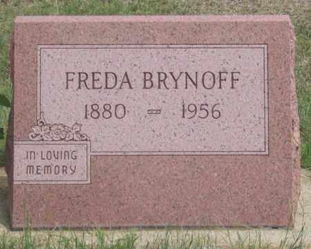 BRYNOFF, FREDA - Dundy County, Nebraska | FREDA BRYNOFF - Nebraska Gravestone Photos