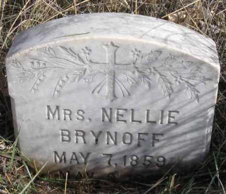 BRYNOFF, NELLIE - Dundy County, Nebraska | NELLIE BRYNOFF - Nebraska Gravestone Photos