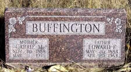 BUFFINGTON, CARRIE M. - Dundy County, Nebraska | CARRIE M. BUFFINGTON - Nebraska Gravestone Photos