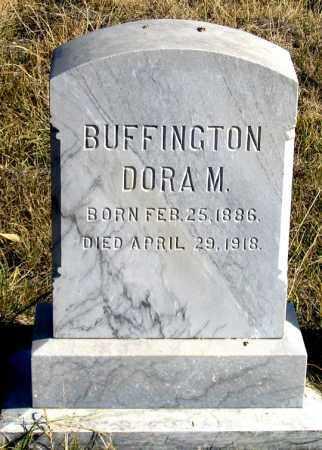 BUFFINGTON, DORA M. - Dundy County, Nebraska | DORA M. BUFFINGTON - Nebraska Gravestone Photos