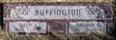 BUFFINGTON, ELLEN J. - Dundy County, Nebraska | ELLEN J. BUFFINGTON - Nebraska Gravestone Photos