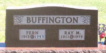 BUFFINGTON, FERN - Dundy County, Nebraska | FERN BUFFINGTON - Nebraska Gravestone Photos