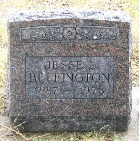 BUFFINGTON, JESSE L. - Dundy County, Nebraska | JESSE L. BUFFINGTON - Nebraska Gravestone Photos