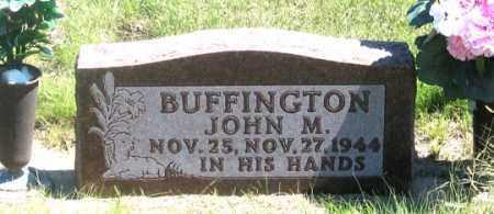 BUFFINGTON, JOHN M. - Dundy County, Nebraska | JOHN M. BUFFINGTON - Nebraska Gravestone Photos