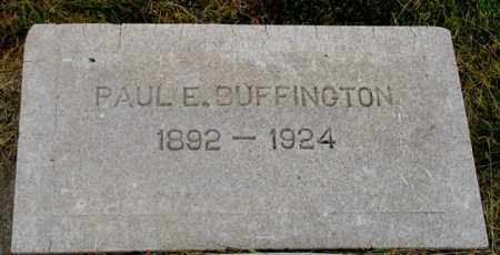 BUFFINGTON, PAUL EARL - Dundy County, Nebraska | PAUL EARL BUFFINGTON - Nebraska Gravestone Photos