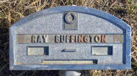 BUFFINGTON, RAY - Dundy County, Nebraska | RAY BUFFINGTON - Nebraska Gravestone Photos