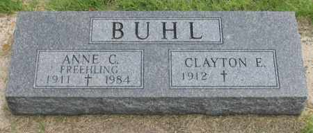 BUHL, ANNE CLARA - Dundy County, Nebraska | ANNE CLARA BUHL - Nebraska Gravestone Photos