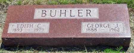 BUHLER, GEORGE J. - Dundy County, Nebraska | GEORGE J. BUHLER - Nebraska Gravestone Photos