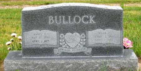 BULLOCK, FRANK L. - Dundy County, Nebraska | FRANK L. BULLOCK - Nebraska Gravestone Photos