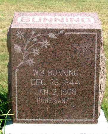 BUNNING, JOHN WILLIAM - Dundy County, Nebraska   JOHN WILLIAM BUNNING - Nebraska Gravestone Photos