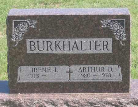 BURKHALTER, IRENE I. - Dundy County, Nebraska | IRENE I. BURKHALTER - Nebraska Gravestone Photos