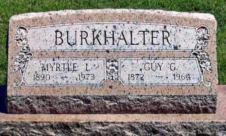 FERRENS BURKHALTER, MYRTLE I. - Dundy County, Nebraska   MYRTLE I. FERRENS BURKHALTER - Nebraska Gravestone Photos