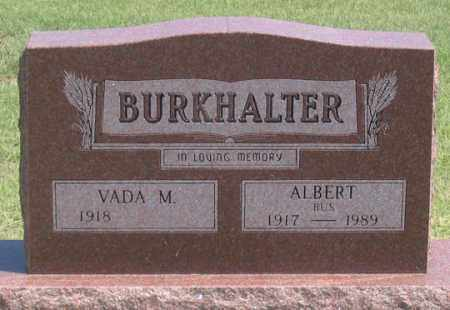 "BURKHALTER, ALBERT ""BUS"" - Dundy County, Nebraska 