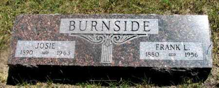 WILSON BURNSIDE, JOSIE - Dundy County, Nebraska | JOSIE WILSON BURNSIDE - Nebraska Gravestone Photos