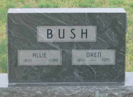 BUSH, OREN - Dundy County, Nebraska | OREN BUSH - Nebraska Gravestone Photos