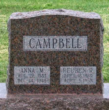 PAYTON CAMPBELL, ANNA M. - Dundy County, Nebraska   ANNA M. PAYTON CAMPBELL - Nebraska Gravestone Photos