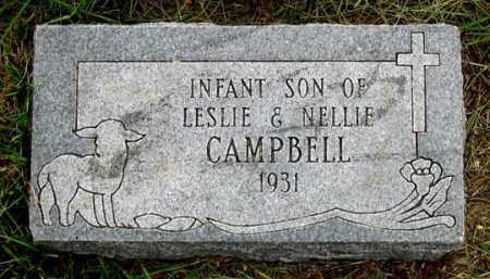 CAMPBELL, INFANT - Dundy County, Nebraska   INFANT CAMPBELL - Nebraska Gravestone Photos