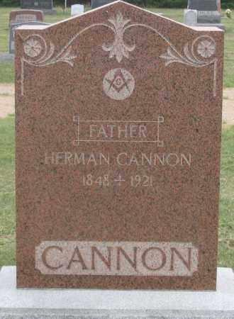 CANNON, HERMAN - Dundy County, Nebraska | HERMAN CANNON - Nebraska Gravestone Photos