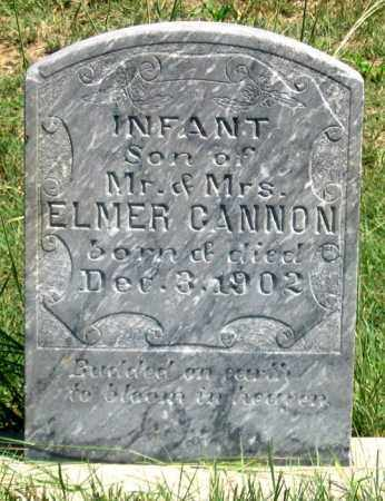 CANNON, INFANT SON - Dundy County, Nebraska | INFANT SON CANNON - Nebraska Gravestone Photos