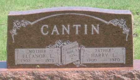 CANTIN, ELEANOR L. - Dundy County, Nebraska   ELEANOR L. CANTIN - Nebraska Gravestone Photos
