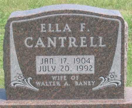 MILLER CANTRELL, ELLA F. - Dundy County, Nebraska | ELLA F. MILLER CANTRELL - Nebraska Gravestone Photos