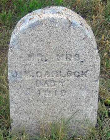 CARLOCK, BABY 1918 - Dundy County, Nebraska   BABY 1918 CARLOCK - Nebraska Gravestone Photos
