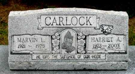 CARLOCK, HARRIET A. - Dundy County, Nebraska | HARRIET A. CARLOCK - Nebraska Gravestone Photos