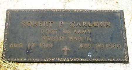 CARLOCK, ROBERT P. - Dundy County, Nebraska | ROBERT P. CARLOCK - Nebraska Gravestone Photos