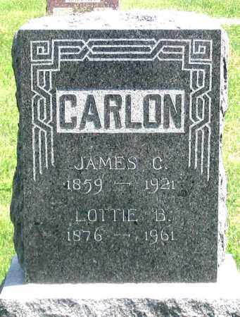 CARLON, LOTTIE B. - Dundy County, Nebraska   LOTTIE B. CARLON - Nebraska Gravestone Photos