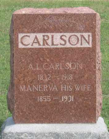 CARLSON, MANERVA - Dundy County, Nebraska | MANERVA CARLSON - Nebraska Gravestone Photos