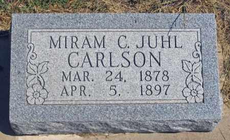 CARLSON, MIRIAM C. - Dundy County, Nebraska | MIRIAM C. CARLSON - Nebraska Gravestone Photos
