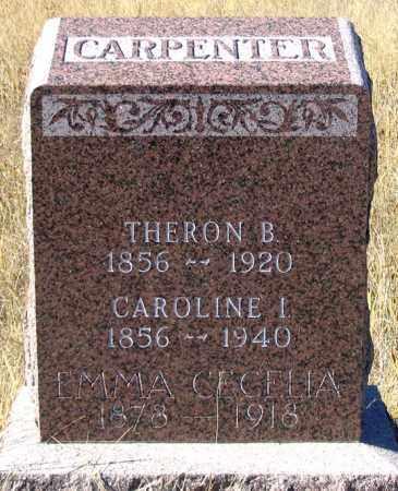 CARPENTER, THERON B. - Dundy County, Nebraska | THERON B. CARPENTER - Nebraska Gravestone Photos