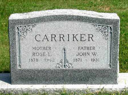THOMPKINS CARRIKER, ROSE L. - Dundy County, Nebraska | ROSE L. THOMPKINS CARRIKER - Nebraska Gravestone Photos