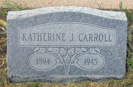 CONKLIN CARROLL, KATHERINE JANE - Dundy County, Nebraska | KATHERINE JANE CONKLIN CARROLL - Nebraska Gravestone Photos