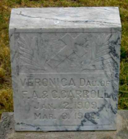 CARROLL, VALDA VERONICA - Dundy County, Nebraska   VALDA VERONICA CARROLL - Nebraska Gravestone Photos