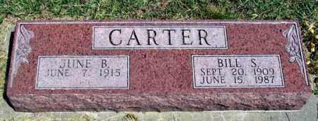 CARTER, BILL S. - Dundy County, Nebraska | BILL S. CARTER - Nebraska Gravestone Photos